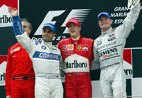 Spanish Grand Prix Podium